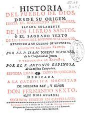 Historia del pueblo de Dios: desde su origen, hasta el nacimiento del Messias ...