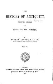 The History of Antiquity: Volume 6