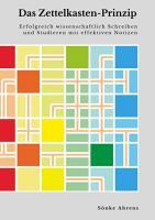 Das Zettelkasten Prinzip PDF