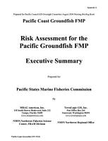 Essential Fish Habitat Designation and Minimization of Adverse Impacts  Pacific Coast Groundfish Fishery Management Plan PDF