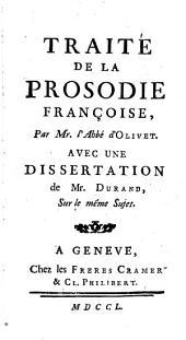 Traité de la prosodie françoise,