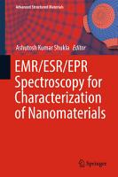EMR ESR EPR Spectroscopy for Characterization of Nanomaterials PDF