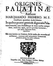 Origines Palatinae