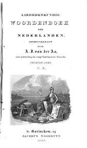 Aardrijkskundig woordenboek der Nederlanden: Volume 9