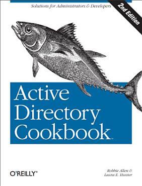 Active Directory Cookbook PDF