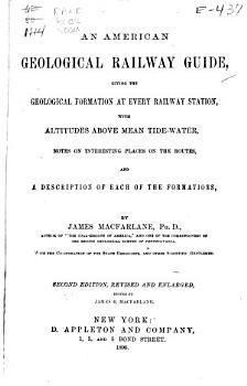 An American Geological Railway Guide PDF