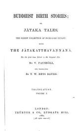 Buddhist Birth Stories, Or, Jātaka Tales: Translation