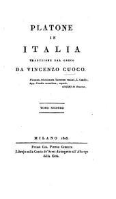 Platone in Italia: Volume 2
