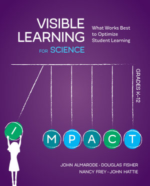 Visible Learning for Science  Grades K 12 PDF
