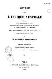 Voyage dans l'Afrique Australe...: exécuté durant les années 1838, 1839, 1840, 1841, 1842, 1843 et 1844...