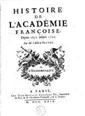 Histoire de l'Académie Françoise, depuis son établissement jusqu' à 1652: Volume2