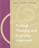 Critical Thinking and Everyday Argument PDF