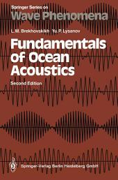Fundamentals of Ocean Acoustics: Edition 2