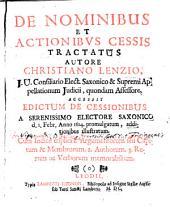 De nominibus et actionibus cessis tractatus