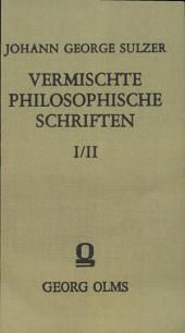 Vermischte philosophische Schriften