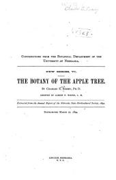 The Botany of the Apple Tree