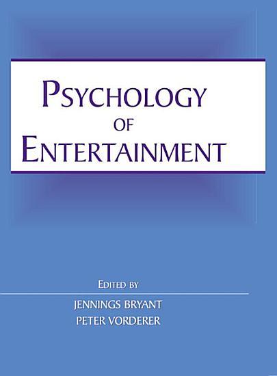 Psychology of Entertainment PDF