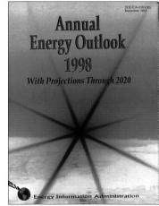 Annual Energy Outlook 1998  With Projections to 2020 PDF
