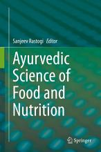 Ayurvedic Science of Food and Nutrition PDF