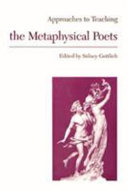 Approaches to Teaching the Metaphysical Poets