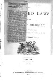 The Compiled Laws of the State of Michigan: Volume 2