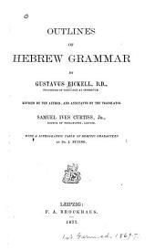 Outlines of Hebrew Grammar