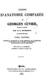 Lecons d'anatomie comparee de Georges Cuvier: La description du fluide nourricier, de ses reservoirs et des organes qui le mettent en mouvement, dans les quatre types du regne animal. 1839