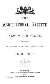 Agricultural Gazette of New South Wales: Volume 3, Issue 2