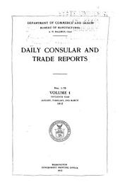 Daily Consular and Trade Reports: Issues 1-76