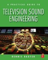 A Practical Guide to Television Sound Engineering PDF