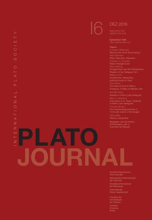 Plato Journal 16