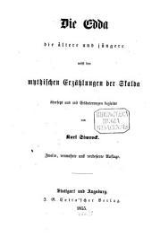 Die Edda: die ältere und die jüngere, nebst den mythischen Erzählungen der Skalda