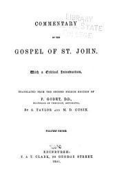 Commentary on the Gospel of St. John: Volume 3