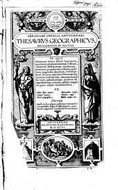 Thesaurus geographicus