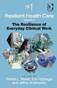 Resilient Health Care  Volume 2 PDF