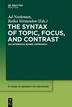 The Syntax of Topic, Focus, and Contrast