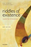 Riddles of Existence PDF