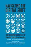 Navigating The Digital Shift  Implementation Strategies for Blended and Online Leraning PDF