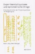 Experimentalsysteme und epistemische Dinge PDF