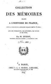 Collection des mémoires relatifs à l'histoire de France: depuis la fondation de la monarchie française jusqu'au 13e siècle, Volume2