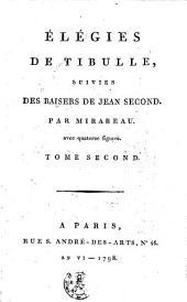 Élégies de Tibulle: avec quatorze figures, Volume2