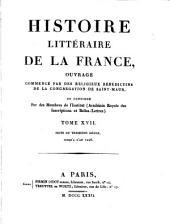 Histoire literaire de la France: XIIIe siècle: Volume17