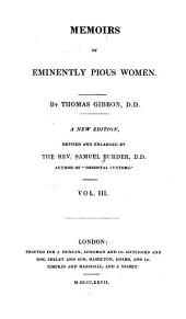 Memoirs of Eminently Pious Women: Volume 3