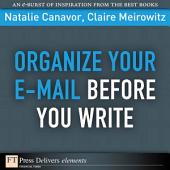 Organize Your E-mail Before You Write