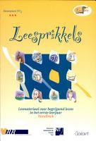Leesprikkels  Leesmateriaal voor begrijpend lezen in het eerste leerjaar   Handboek  Leesslang  nr  1  PDF