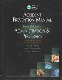 Download Accident Prevention Manual for Business   Industry Book
