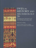 Dyes in History and Archaeology 20 PDF