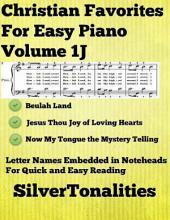 Christian Favorites for Easy Piano Volume 1 J