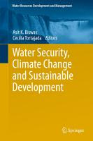 Water Security  Climate Change and Sustainable Development PDF
