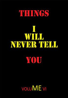 Things I Will Never Tell You PDF